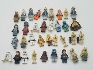Lego Star Wars Assorted Minifigures lot of 35