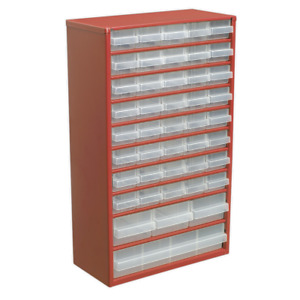 Cabinet Box 44 Drawer | SEALEY APDC45