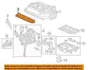 HONDA OEM-Engine Intake Manifold Gasket 17105RCJA01