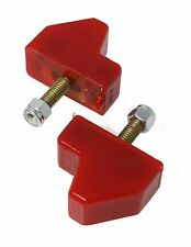 70-92 Camaro Firebird Trans Am Front Lower Control Arm Bump Stops RED