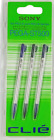 Sony PEGA-ST500 Stylus 3 Pack for PEG-S and PEG-N NEW