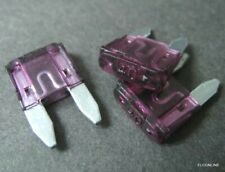 50 Pcs x Car ATM Mini Blade Fuse 12V 24V AMP 1 - 5 7.5 10 15 20 25 30 40A #gtx