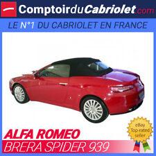 Capote OEM Alfa Romeo Brera Spider cabriolet en Alpaga Twillfast®