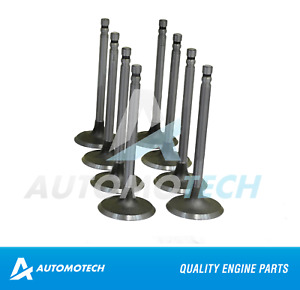 Engine Intake Valves Set 4.3 5.7 L fits Chevrolet Corvette Camaro #1476-(+15)