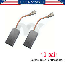 10 pair Carbon Brush For Bosch 028 Gws9-125C Grinder Gws6-100 Gws6-115 Us