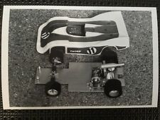 Vintage 1/8 Early Thorp Racing RC Lay Down Engine Car Product Catalog Photo