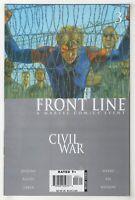 Civil War: Front Line #3 (Sep 2006, Marvel) Jenkins, Bachs, Lieber, Weeks, Aja o