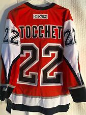 CCM Classic NHL Jersey Philadelphia Flyers Rick Tocchet Orange sz M