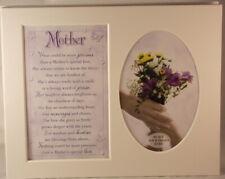 Madre Recuerdo Marco de Fotos Montaje A Tomar 15.2x10.2cm Foto 20.25cm x 25.5cm