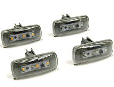 2010-2014 DODGE RAM LED SIDE FENDER DUALLY OEM MARKER LIGHTS CLEAR 4 PC SET