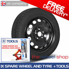 "16"" Mercedes C Class - 2014 on - Full Size Spare Steel Wheel & Tyre plus Tools"