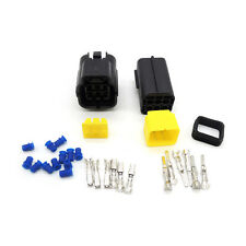 5 set 6 Pin Way Waterproof Wire Connector Plug Car Auto Sealed Electrical Set