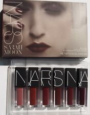 NARS Mind Game Velvet Lip Glide Set x 6 Sarah Moon Lipstick Limited Edition BNIB