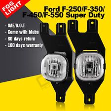 Fog lights For Ford F-250 350 450 550 Super Duty Excursion car past lamps bumper
