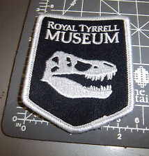 Royal Tyrrell Museum Drumheller Alberta Canada Embroidered patch, T-rex skull