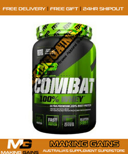 Musclepharm Combat 100% Whey Protein 2lbs |All Flavours| The BEST @ MAKING GAINS