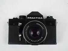 Praktica-  Film Camera - Black - W/ Pentacon Electric 1.8/50 Lens