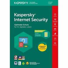 Kaspersky Internet Security 2020-2021 1 PC 1 Geräte 1 Jahr Vollversion Antivirus