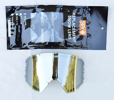 2016 NWT SPY RAIDER GOGGLE REPLACEMENT LENS $30 Happy Bronze/Silver Mirror
