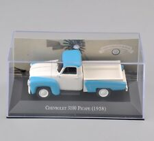 Atlas 1/43 Scale Chevrolet 3100 Picape (1958) Diecast Yellow Car Model Toy
