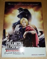 Fullmetal Alchemist: Brotherhood - Collection One (DVD, 2012, 6-Disc Set)