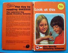 Look At This vintage Ladybird book 1b Key Words Reading Scheme early learning 60