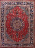 SEMI ANTIQUE Floral Traditional Wool Area Rug Hand-Knotted Oriental 9x13 Carpet