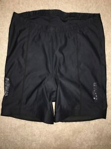 Hind Bicycle Cycling Padded Shorts, Size Medium Black Stretch Pull On Cycle EUC