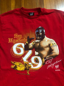 WWE Rey Mysterio 619 Graphic T-Shirt 2008 (Youth XXL / Adult Large)