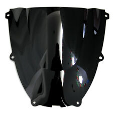 For 96-07 Yamaha YZF600R Thundercat Black Wind Screen Double bubble Windshields