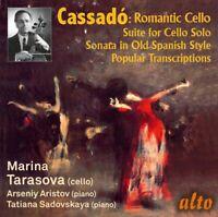CD CASSADO ROMANTIC CELLO MUSIC & TRANSCRIPTIONS TARASOVA SUITE DANCE OF THE ELV