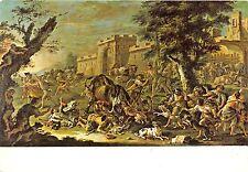 B22910 Domenico Brandi The apture of the Raging Bull  painting