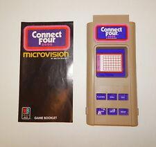 Working Milton Bradley Microvision Connect Four Cartridge  R8533