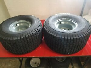 CRAFTSMAN REAR WHEELS TIRES 20x10x8