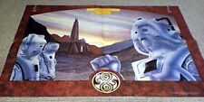 DOCTOR WHO MAGAZINE PIN-UP POSTER THE CYBERMEN THE FIVE DOCTORS ANDREW SKILLETER