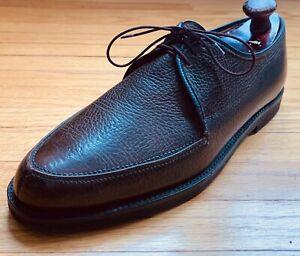 Cheaney for Dack's Bond St Exotic Pebbled Calf Norwegian Split Toe NST Shoes 11C