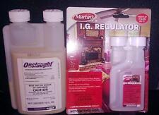 16 oz Onslaught Pest Insecticide & 4 oz Martins IGR w/ Nylar Flea Roach Control