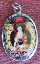 Tibetan Deity Pendant SHAKYAMUNI BUDDHA Enamel Metal