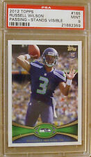 2012 Topps #165 Russell Wilson QB RC Seahawks #21682358 PSA MT 9