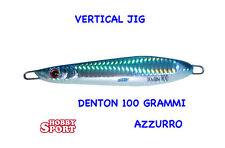 VERTICAL JIG DENTON 100 GR COLORE AZZURRO 01