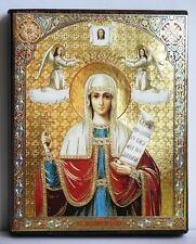 Ikone heilige Paraskewa geweiht икона святая мученница Параскева 12x10x2 cm