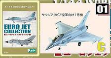EURO JET 1:144 F-TOYS TYPHOON FIGHTER ROYAL SAUDI Fighter Plane Model FT_UR_1c