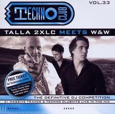 Techno club vol.33 - talla 2xlc meets w & w - 31 tracks-Double CD - 2010 NEUF