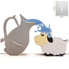 3D Pop Up Card Baptism Pot Child Baby Gift Sheep Cute Gift New Hot Cards