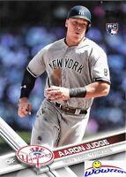 2017 Topps # 287 Aaron Judge ROOKIE VARIATION New York Yankees Slugger MVP?