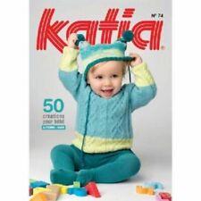 Patrons et modèles Katia pour crochet et tricot