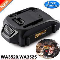For WORX WA3575 Power Share 2.0AH Battery 20V WA3525 WA3520 WG166 WG151s WG155s