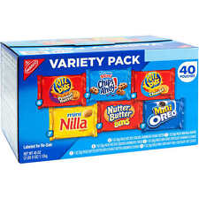 Nabisco Variety Snack Pack 40 ct
