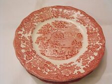 "Royal worcester palissy thames river scenes rose rouge avon scenes 8"" plaque"