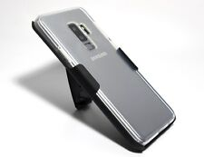 CLEAR TPU CASE with BELT CLIP HOLSTER for S9 (regular) - TRANSPARENT